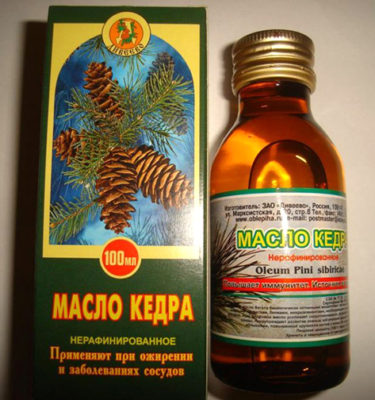 olej cedrowy