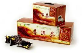 czerwona herbata kostki