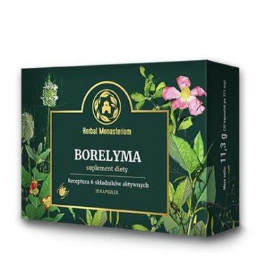 BORELYMA - 30 kaps. Stymulacja aktywności układu immunologicznego.
