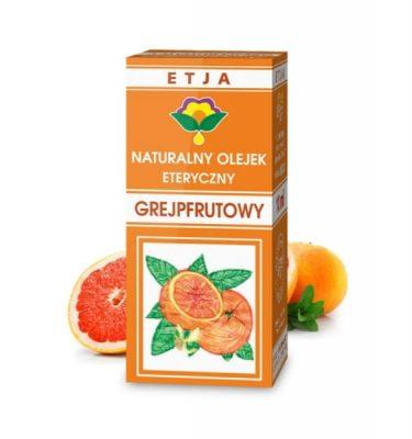 Olejek grejpfrutowy eteryczny 10 ml ETJA