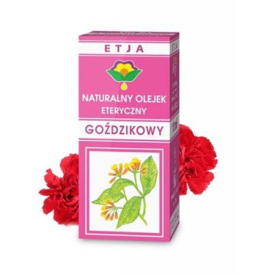 Olejek goździkowy eteryczny 10 ml ETJA