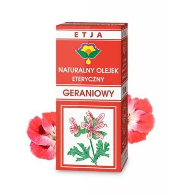 Olejek geraniowy eteryczny 10ml ETJA