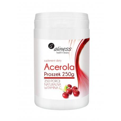 ACEROLA PROSZEK 250G NATURALNA WITAMINA C ALINESS